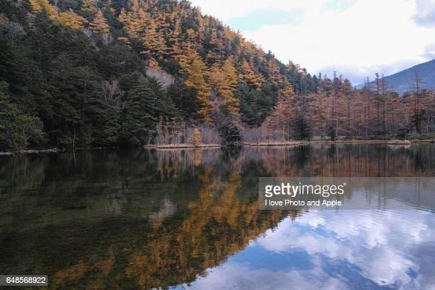 Kamikochi autumn scenery