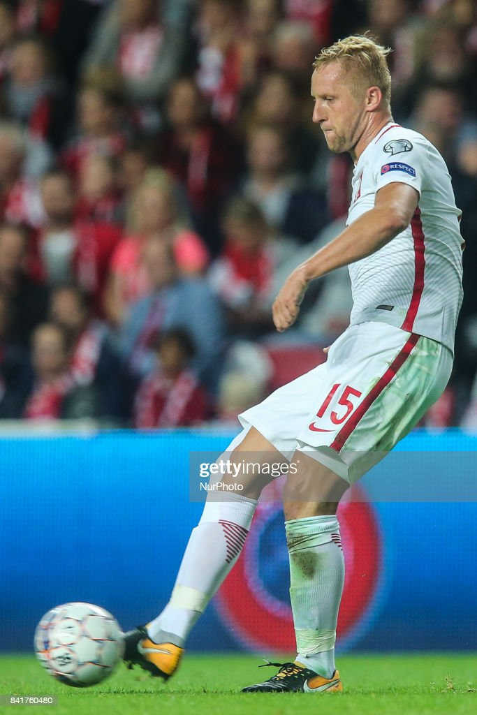 Kamil Glik (POL), during the FIFA 2018 World Cup Qualifier between Denmark and Poland at Parken Stadion on September 1, 2017 in Copenhagen.