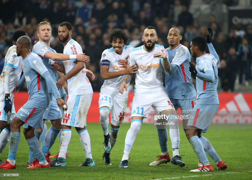 Olympique Marseille v AS Monaco - Ligue 1 : News Photo