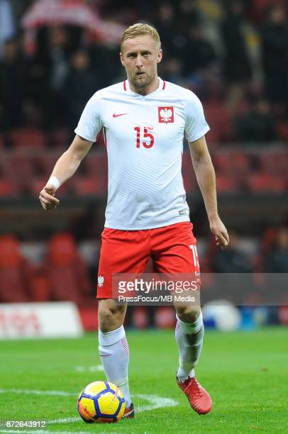 Kamil Glik of Poland during the international friendly match between Poland and Uruguay at National Stadium on November 10 2017 in Warsaw Poland