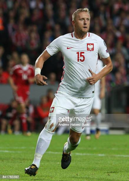 Kamil Glik of Poland in action during the FIFA 2018 World Cup Qualifier between Denmark and Poland at Parken Stadion on September 1 2017 in Copenhagen