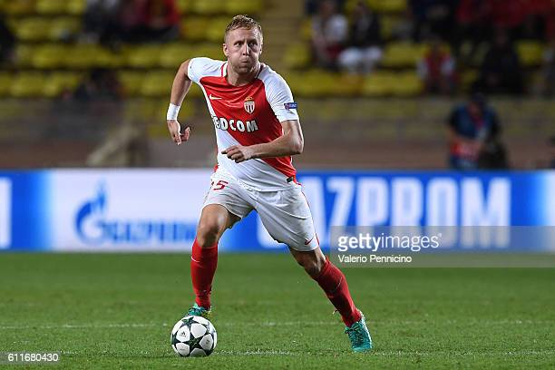 Kamil Glikof AS Monaco FC in action during the UEFA Champions League Group E match between AS Monaco FC and Bayer 04 Leverkusen at Louis II Stadium...