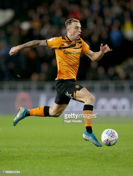 Kamil Grosicki of Hull City during the Sky Bet Championship match between Hull City and Birmingham City at KCOM Stadium on December 21 2019 in Hull...