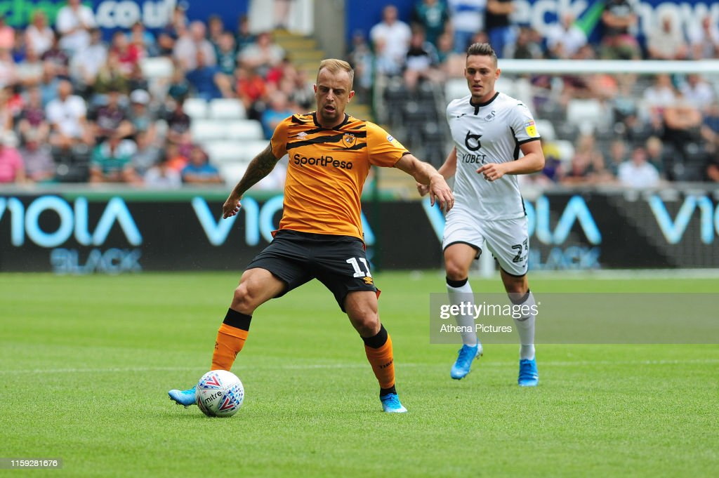 Swansea City v Hull City - Sky Bet Championship : News Photo