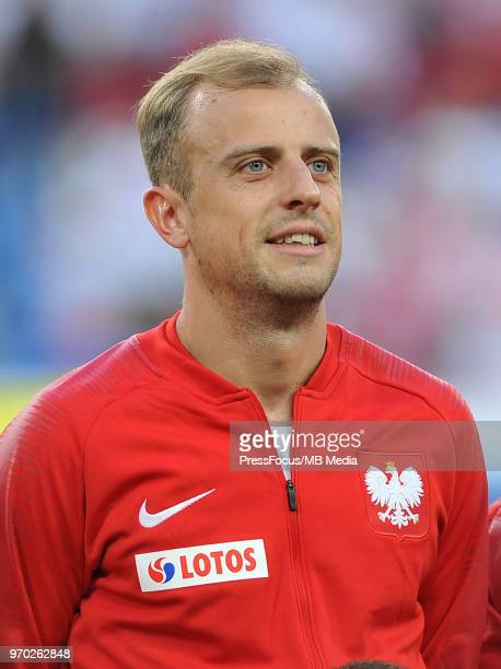 Kamil Grosicki of Poland looks on before the International Friendly match between Poland and Chile on June 8 2018 in Poznan Poland