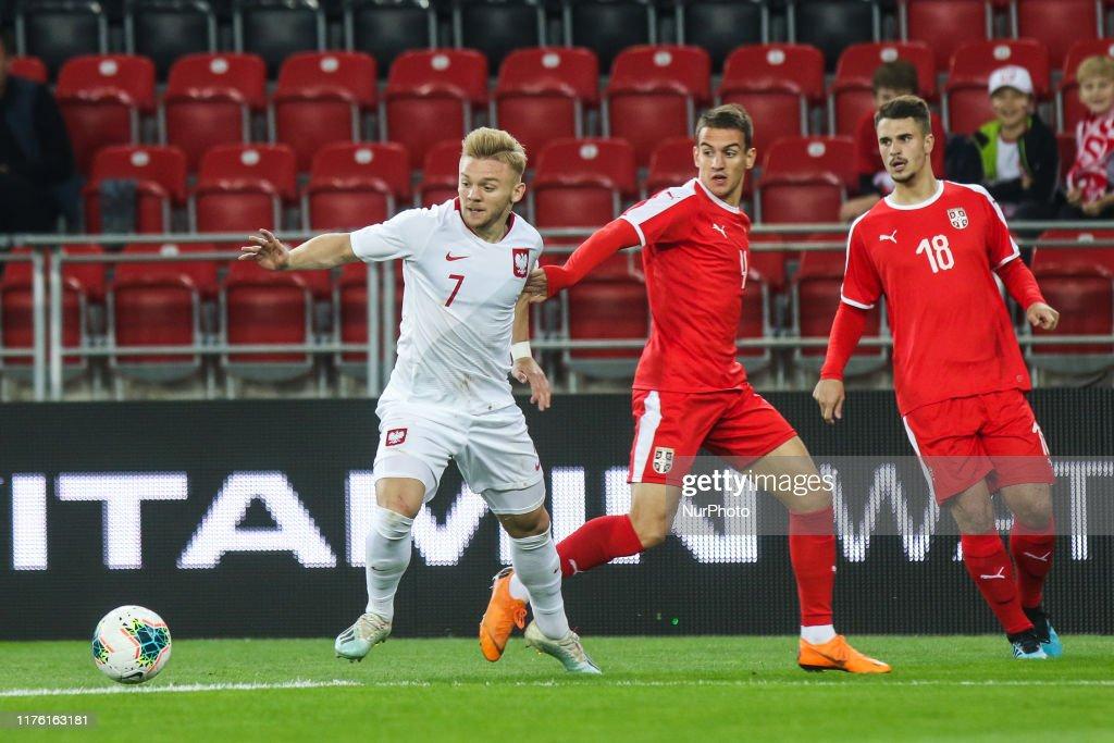 Poland v Serbia - 2021 UEFA U21 Championship Qualifying Match : News Photo