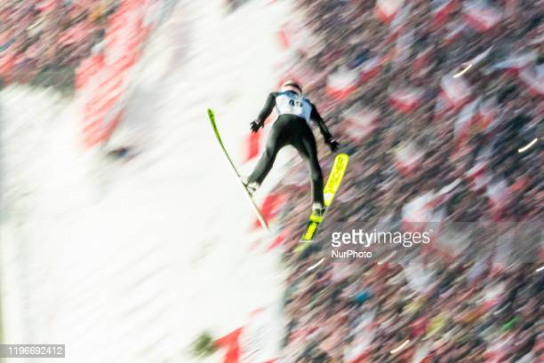 Kamil Stoch during individual large hill competition of the FIS Ski jumping World Cup in Zakopane on January 26 2020 in Zakopane Poland