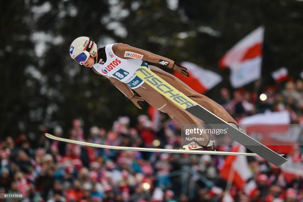 Ski Jumping - Polish Team wins Team competition in Zakopane : News Photo