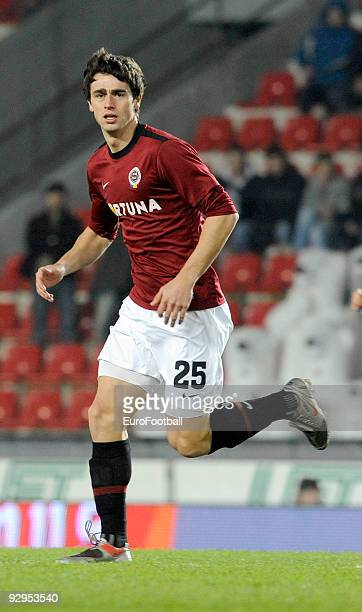 Kamil Vacek of AC Sparta Praha during the Gambrinus Liga match between AC Sparta Praha and FC Banik Ostrava held on October 31, 2009 at the GENERALI...