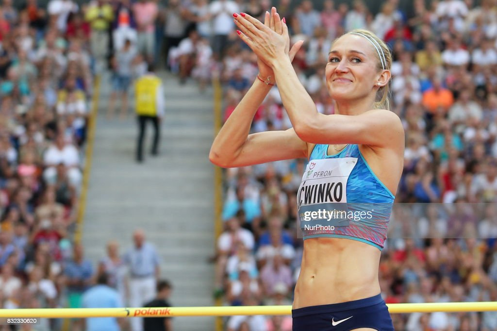Kamila Licwinko (POL), in action during the 5th Kamila Skolimowska Memorial of athletics in Warsaw, Poland, on 15 August, 2017.