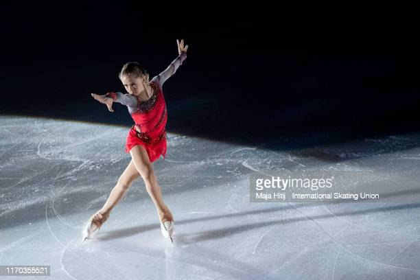Kamila Valieva of Russia performs during Gala Exhibition at the ISU Junior Grand Prix of Figure Skating Grand Prix de Courchevel on August 24 2019 in...