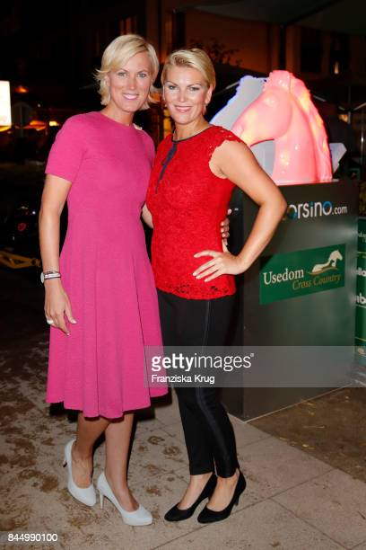 Kamilla Senjo and her sister Juliana Senjo attend the Till Demtroeders CharityEvent 'Usedom Cross Country' on September 9 2017 at Steigenberger Hotel...