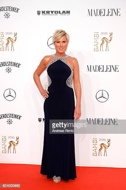 Kamilla Senjo arrives at the Bambi Awards 2016 at Stage Theater on November 17 2016 in Berlin Germany