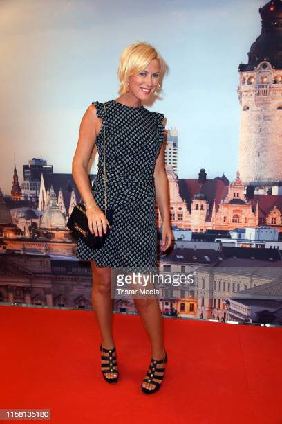 Kamilla Senjo attends the 12th GRK Golf Charity Masters evening gala on July 27 2019 in Leipzig Germany