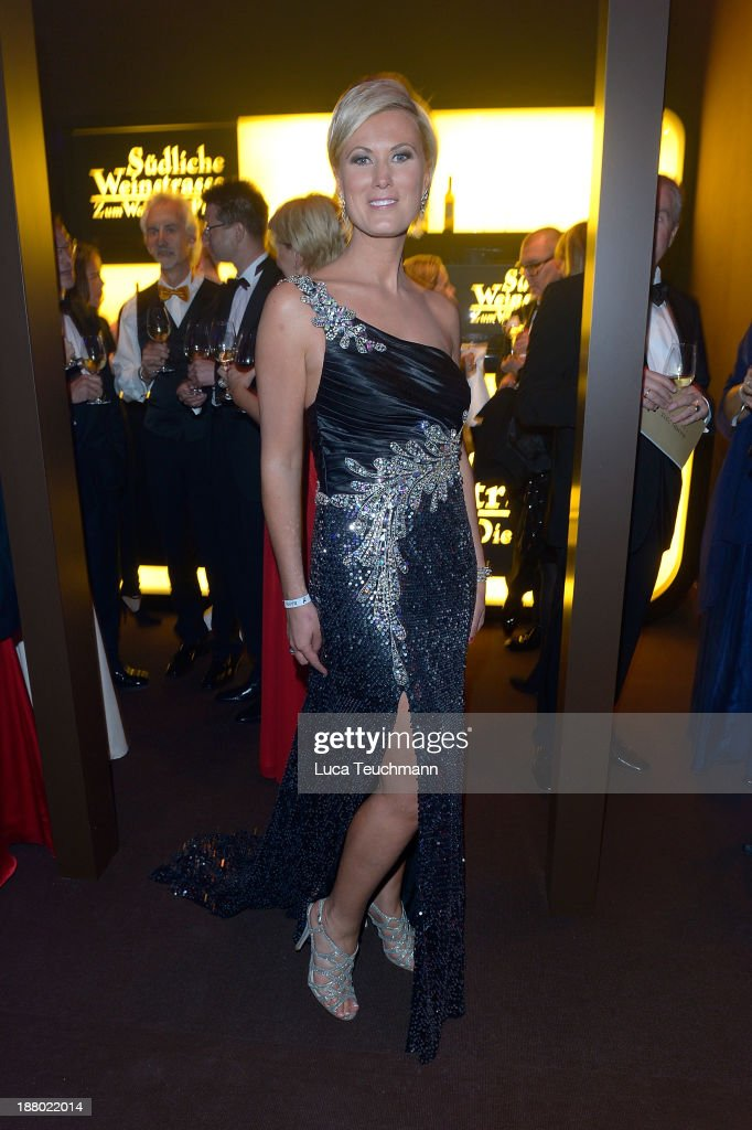 Kamilla Senjo attends the Bambi Awards 2013 After Show Party at Stage Theater on November 14, 2013 in Berlin, Germany.