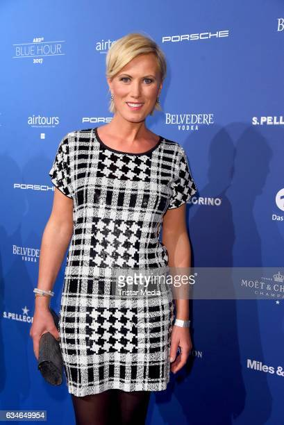 Kamilla Senjo attends the Blue Hour Reception hosted by ARD during the 67th Berlinale International Film Festival Berlin on February 10 2017 in...