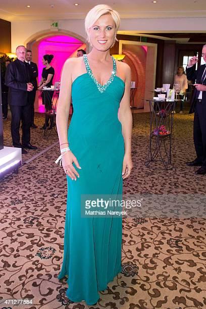 Kamilla Senjo attends the Felix Burda Award 2015 at Hotel Adlon on April 26 2015 in Berlin Germany