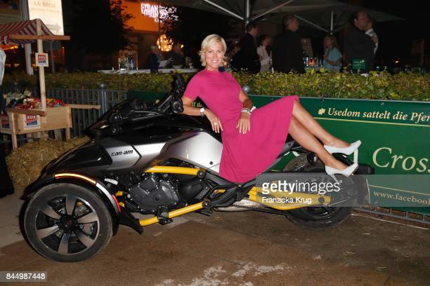 Kamilla Senjo attends the Till Demtroeders CharityEvent 'Usedom Cross Country' on September 9 2017 at Steigenberger Hotel near Heringsdorf at Usedom...