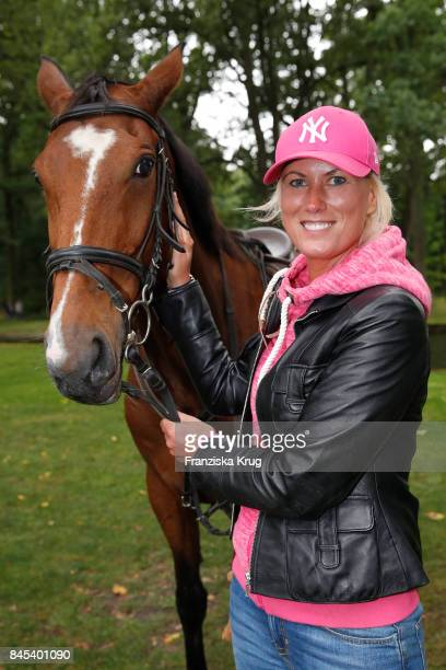 Kamilla Senjo attends the Till Demtroeders CharityEvent 'Usedom Cross Country' at Schloss Mellenthin on September 9 2017 near Heringsdorf at Usedom...