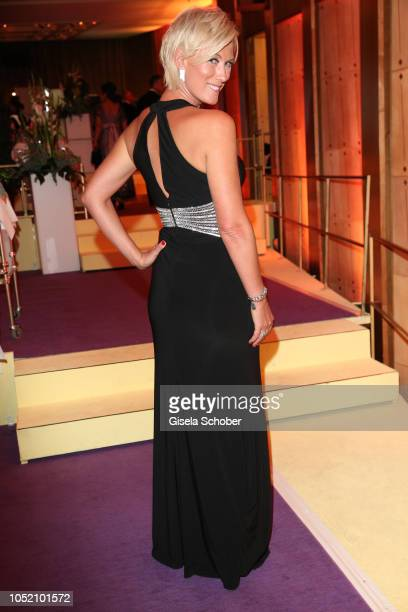 Kamilla Senjo during the Leipzig Opera Ball Ahoj Cesko on October 13 2018 in Leipzig Germany