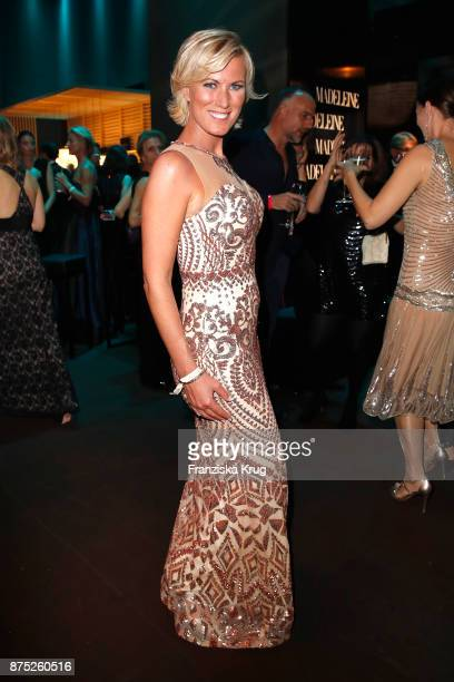 Kamilla Senjo poses at the Bambi Awards 2017 party at Atrium Tower on November 16 2017 in Berlin Germany