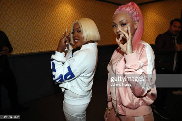 Kamillion and Cuban Doll attend The 7th Annual ICM x Cantu Official SXSW Showcase Presented by Bumble at The Belmont on March 15 2018 in Austin Texas