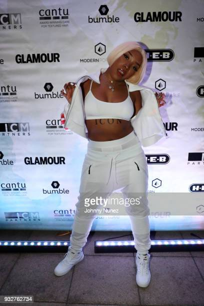 Kamillion attends The 7th Annual ICM x Cantu Official SXSW Showcase Presented by Bumble at The Belmont on March 15 2018 in Austin Texas