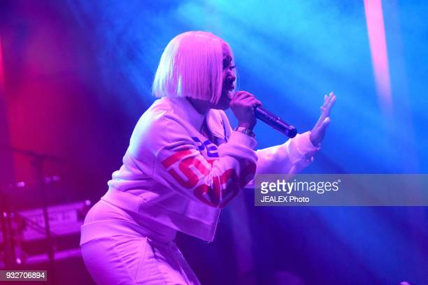 Kamillion performs onstage at ICM All Female Event during SXSW at The Belmont on March 15 2018 in Austin Texas