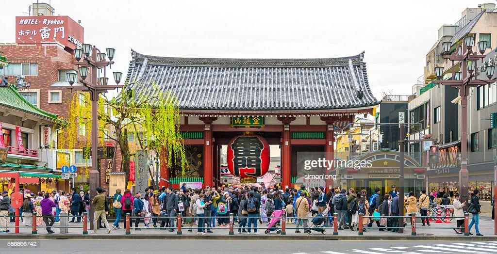 Kaminarimon Gate, asakusa ,Japan : ストックフォト