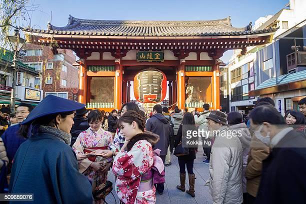 Kaminarimon Gate at Senso-ji Temple