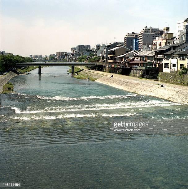 kamogawa river