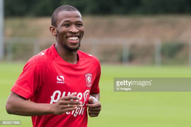 Kamohelo Mokotjo of FC Twente during a training session at Trainingscentrum Hengelo on June 24 2017 in Hengelo The Netherlands