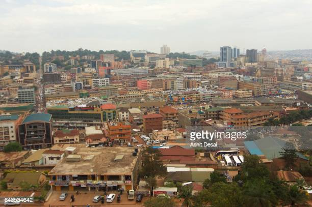 kampala is the capital and the largest city of uganda. - kampala stock pictures, royalty-free photos & images