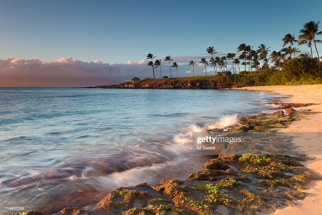 Kampala-bay-Maui : Stock Photo