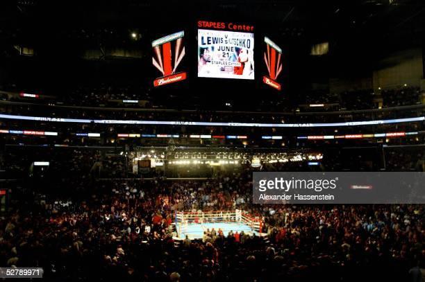 Kampf 2003 Schwergewicht Los Angeles Vitali KLITSCHKO/UKR Lennox LEWIS/GBR Uebersicht