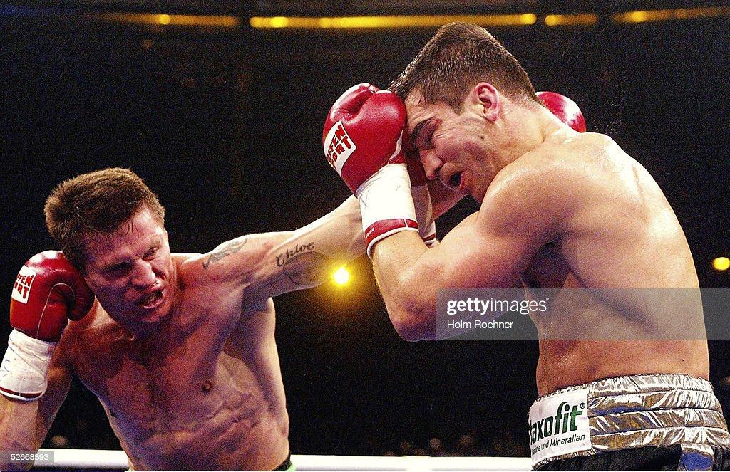 Boxen: WBC WM Kampf 2005, Supermittelgewicht, Markus BEYER - Danny GREEN : News Photo