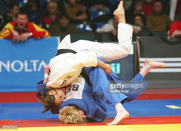 Kampfsport / Judo: Otto World Cup 2004, Hamburg; - 48 kg; Julia MATIJASS / GER, Ann SIMONS / BEL 21.02.04.