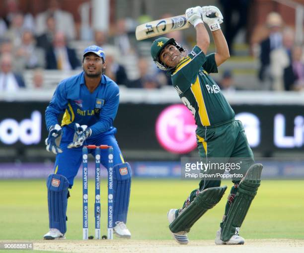 Kamran Akmal batting for Pakistan during the ICC World Twenty20 Final between Pakistan and Sri Lanka at Lord's Cricket Ground London 21st June 2009...