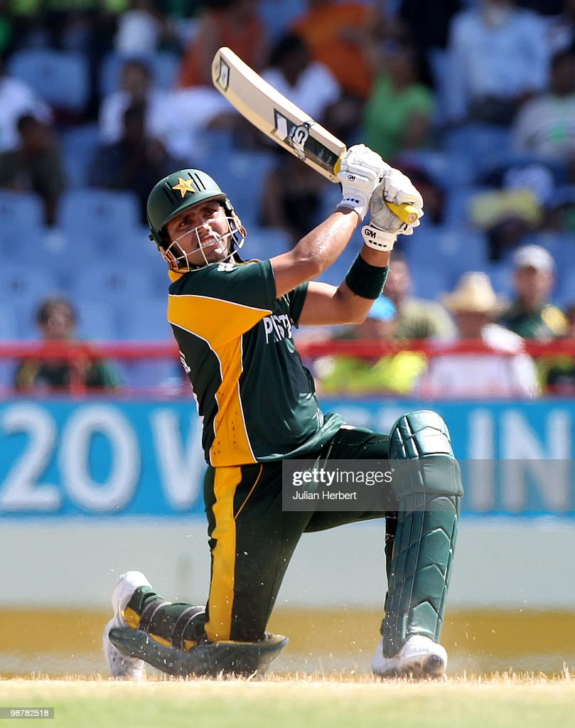 Kamran Akmal of Pakistan scores runs during The ICC World Twenty20 Group A match between Pakistan and Bangladesh played at The Beausejour Cricket Ground on May 1, 2010 in Gros Islet, Saint Lucia.