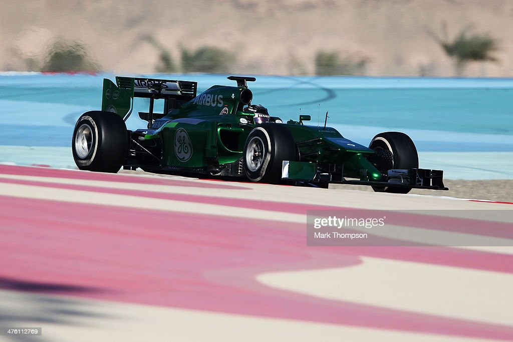F1 Testing in Bahrain - Day Four : News Photo