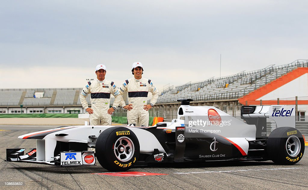 Sauber F1 Launch : News Photo