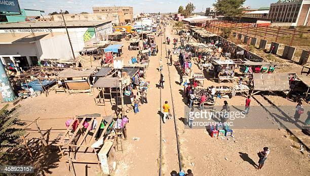 kamwala 屋外マーケット,lusaka - ザンビア ストックフォトと画像