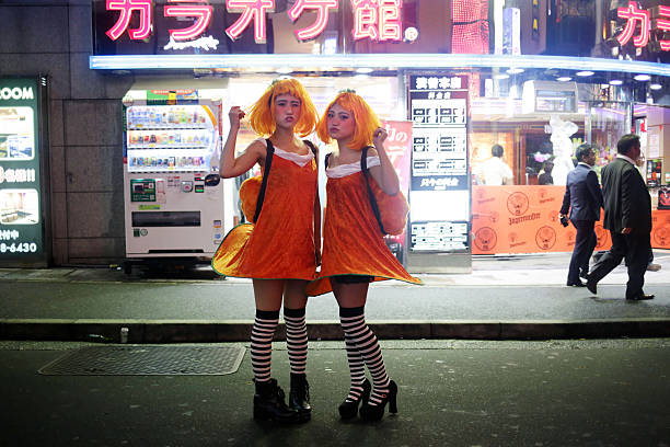 JPN: Tokyoites Dress Up For Halloween