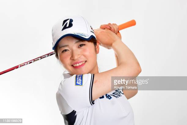 Kana Mikashima of Japan poses during the 2019 LPGA Portrait Session at Ryukyu Golf Club on March 6 2019 in Nanjo Okinawa Japan