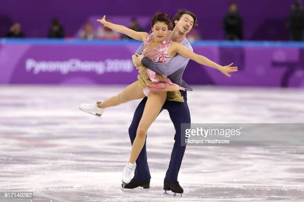 Kana Muramoto and Chris Reed of Japan compete in the Figure Skating Team Event – Ice Dance Free Dance on day three of the PyeongChang 2018 Winter...