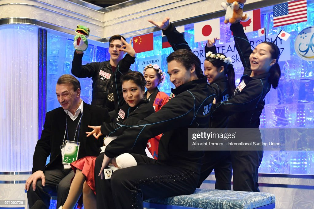 ISU World Team Trophy - Japan Day 2