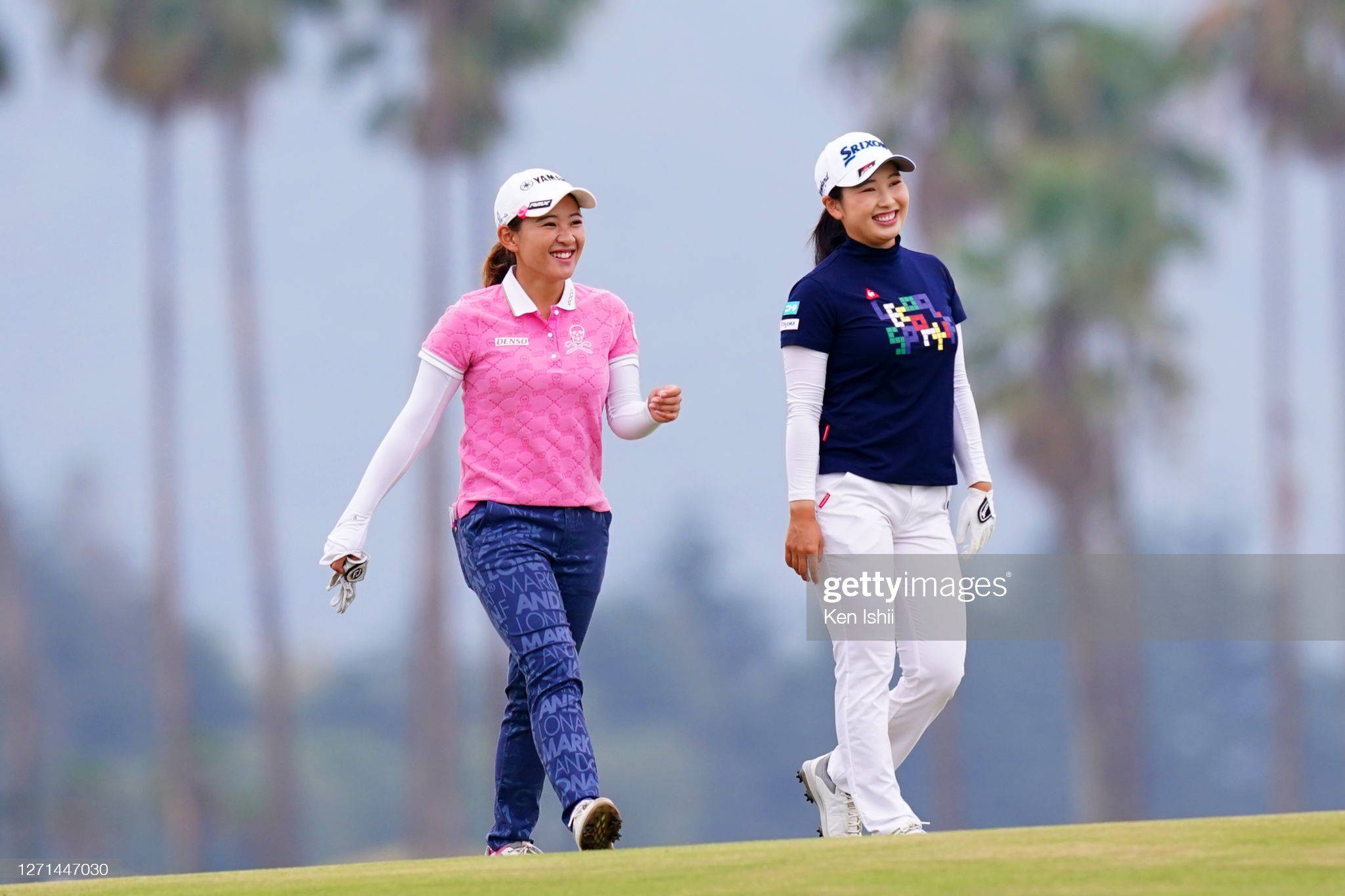 https://media.gettyimages.com/photos/kana-nagai-and-sakura-koiwai-of-japan-share-a-laugh-on-the-10th-hole-picture-id1271447030?s=2048x2048