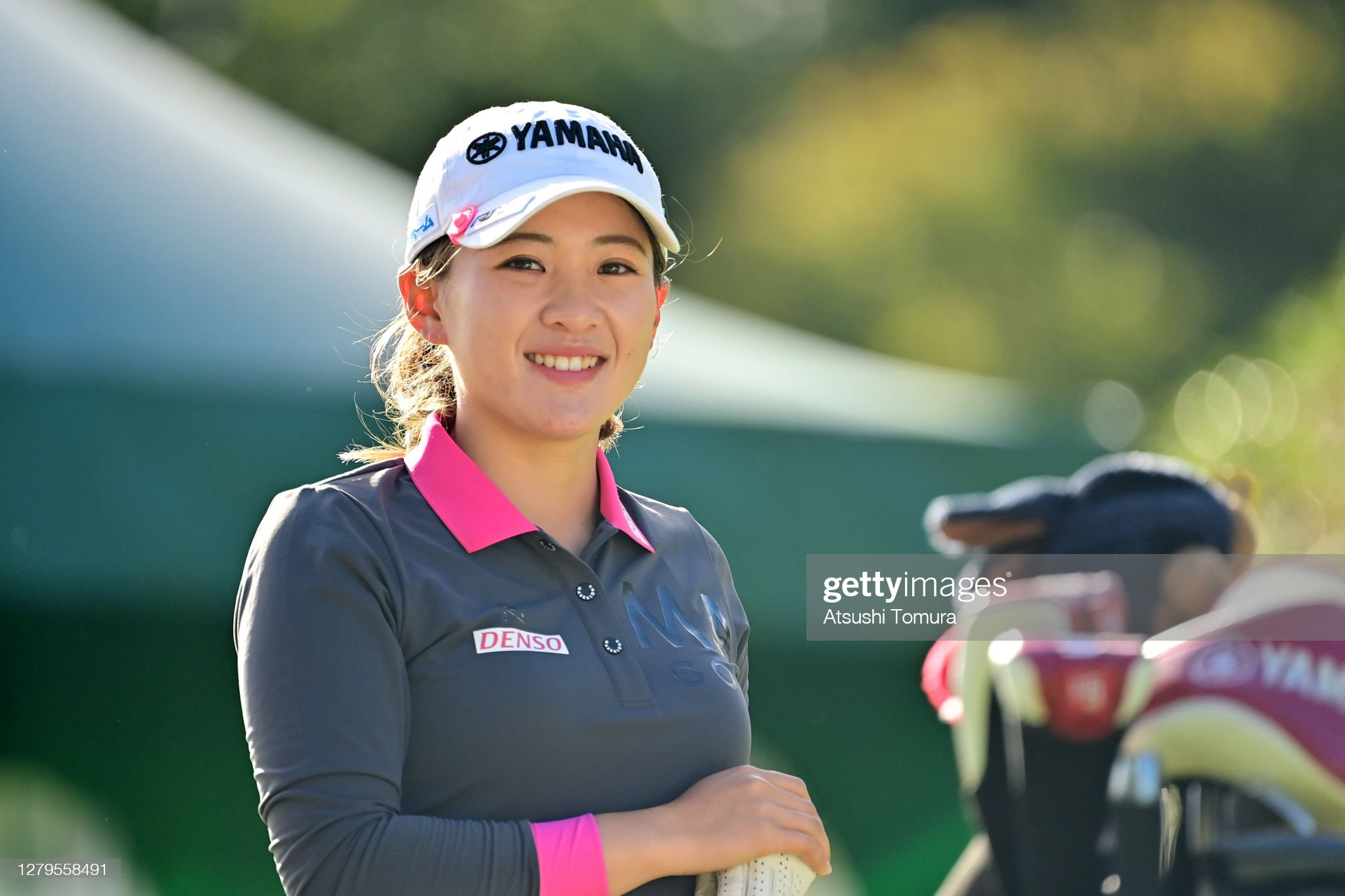 https://media.gettyimages.com/photos/kana-nagai-of-japan-smiles-on-the-1st-tee-during-the-final-round-of-picture-id1279558491?s=2048x2048