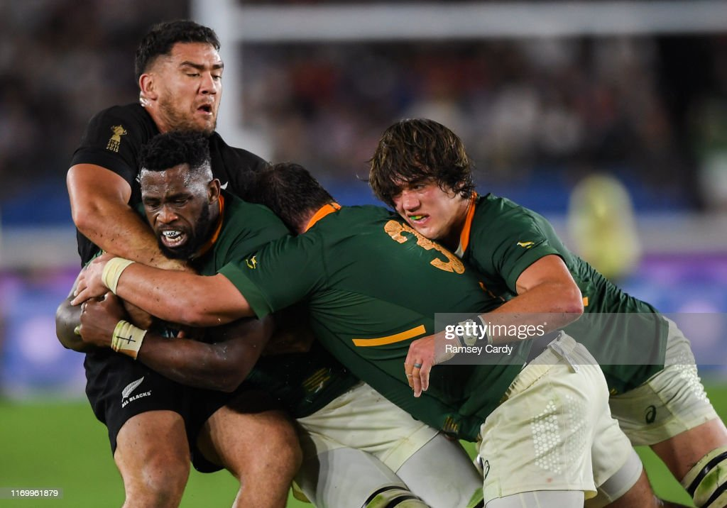 New Zealand v South Africa - 2019 Rugby World Cup Pool B : News Photo