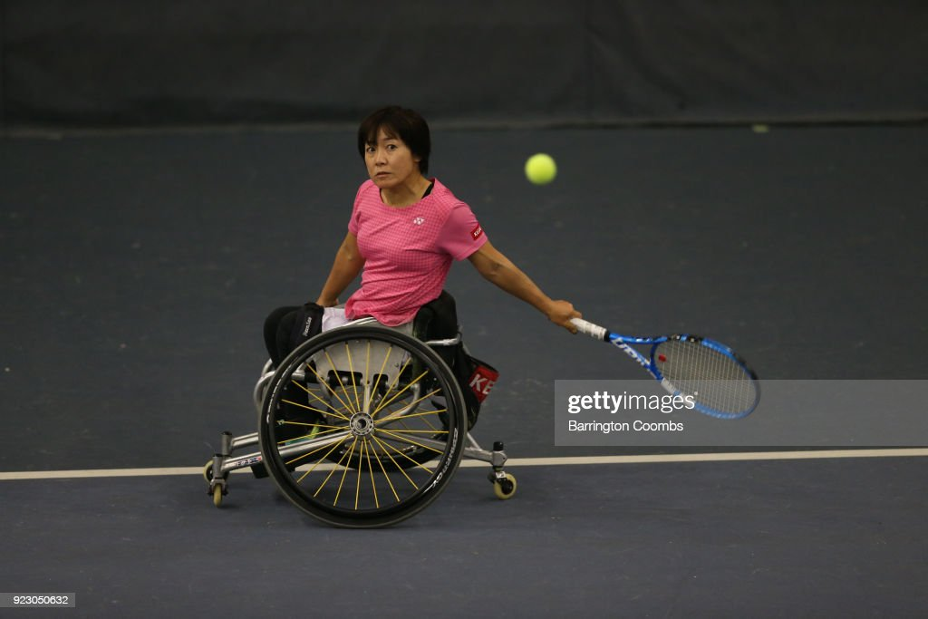 2018 Bolton Indoor Wheelchair Tennis Tournament